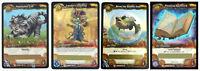 WOW World of Warcraft TCG Loot Cards Nightsaber Cub Landro's Lichling Fish Book