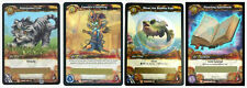 WOW World of Warcraft TCG Loot Cards Nightsaber Cub Landro's Lichling Fish Book