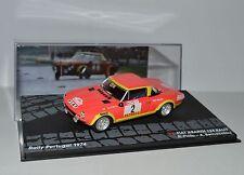 RALLY IXO DIECAST 1/43 Fiat 124 Abarth Pinto-Bernacchini 1974 RAL090