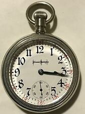 1908 Illinois 18S 23J Bunn Special Pocket Watch VERY ACCURATE Beautiful CASE