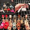 Cute Mini Purse Handbag Keychain Key Ring Fob For Bag Pendant Charm Accessory