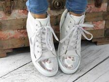 WOMEN'S HIDDEN WEDGE HEEL HIGH-TOP ANKLE SNEAKERS COLOURS...++%+)+%$%$