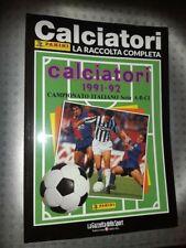 Album Panini Fußballer La Collection Vollständige 1991-92 1992 Zeitschrift 2018
