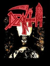 DEATH cd cvr INDIVIDUAL THOUGHT PATTERNS Official 2-Sided SHIRT SMALL new