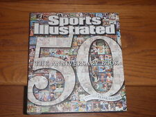 Sports Illustrated 50 - The Anniversary Book - Hardcover Nfl Mlb Nba Nhl