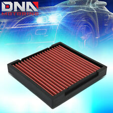 FOR 2009-2019 HONDA CIVIC/CRV/HRV/FIT/INSIGHT RECLEANABLE CABIN AIR FILTER RED