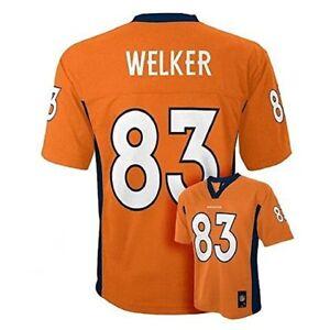 Denver Broncos Jersey Youth Wes Welker  #83 NFL Orange Boys NFL