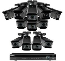 NEW Lorex 16 Channel 4K 3TB NVR + 12  8MP IP Cameras Nocturnal 30 fps Motorized