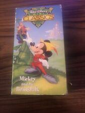 Walt Disney Mini Classics - Mickey and the Beanstalk - VHS