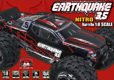 Redcat Racing Earthquake 3.5 1/8 Scale Nitro Monster Truck Black/Red RC Car