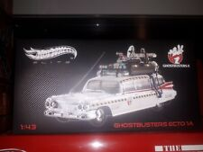 1/43 Ghostbusters Ecto 1A Hot Wheels Elite