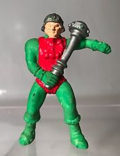 """Vintage MOTU Man At Arms 2"""" Rubber Figure Masters Of The Universe 1984 Toy Rare"""