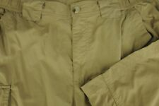 Columbia Titanium Men's Brown Zip To Shorts Omni Shade Nylon Pants 32 x 32