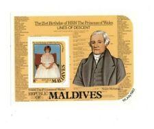 VINTAGE CLASSICS - MALDIVES SC# 955 - Princess Diana Souvenir sheet - MNH