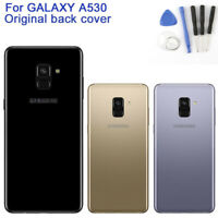 Back Battery Cover For Samsung Galaxy A8 2018 Version A530N/F Housing Glass Case