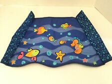 Fisher Price Ocean Wonders Aquarium Fish Cradle Swing cloth for legs back