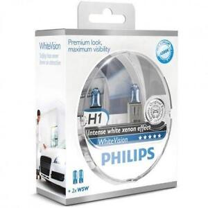2 ampoules H1 + W5W Philips WhiteVision FORD CAPRI III