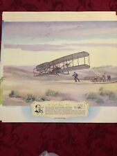 """Rare Vintage lithographs Lot """"Dawn Of Wings� Thompson Products. cH Hubbell Art"""