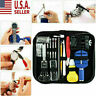 147 PCS Watch Repair Kit Watchmaker Back Case Opener Link Remover Set