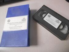 BMW VHS Video Cassette Tape 1995 Battle of The Legends 4 # K