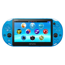 Sony PlayStation Vita - Sapphire Blue Handheld System Very Good Condition