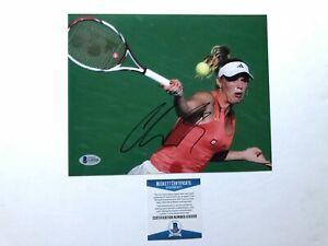 Caroline Wozniacki Hot! signed autographed tennis 8x10 photo Beckett BAS coa