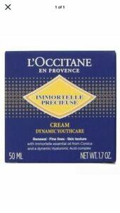 L'OCCITANE Immortelle Precious Cream Dynamic Youth-Care 50ml/1.7oz NEW in Box