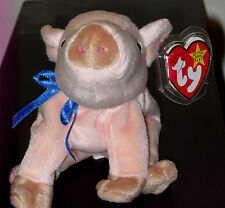 Ty Beanie Baby ~ KNUCKLES the Pig ~ MINT with MINT TAGS ~ RETIRED