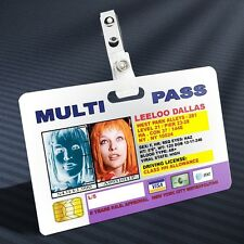 Fifth Element - Leeloo Multipass Prop ID Badge