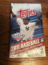 2011 Topps Baseball series  1 box Hobby