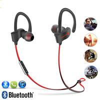 4 Color Wireless Headphones Sweatproof Bluetooth Earphones In-Ear Stereo Headset