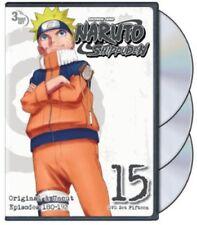 Naruto Shippuden: Uncut Set 15 [New DVD] Full Frame, Subtitled, 3 Pack