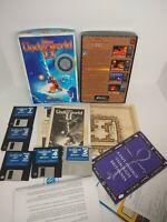 "Ultima Underworld II 2 Labyrinth of Worlds PC DOS 3.5"" Big Box Game w/ Clue Book"