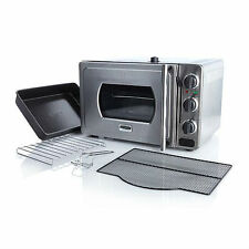 Wolfgang Puck Pressure Oven With Pizza Screen Stainless Steel 1700W Countertop