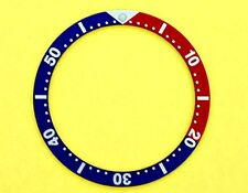 NEW SEIKO PEPSI INSERT FOR 6105, 6309, 7002, 7S26, 7548 DIVE WATCH NR#149