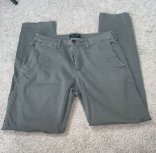 American Eagle Outfitters Men's Chino Style Pants 31x32 Gray Extreme Flex
