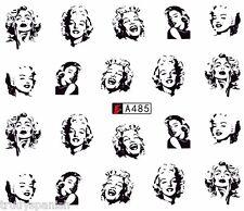 Nail Art Water Transfers Nail Art Stickers Decals Marilyn Monroe Gel Polish a485