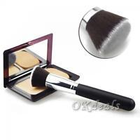 Face Cosmetic Kabuki Foundation Tool Powder Makeup Brush Flat Top