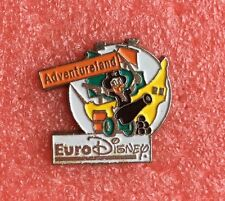 Pins WALT DISNEY ouverture EURODISNEY ADVENTURELAND Donald Pirate Des Caraïbes