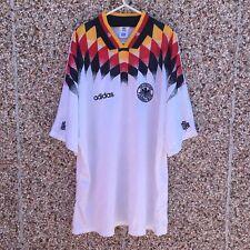 1994 1996 Germany Adidas Home Football Shirt Small Adult Classic Trikot