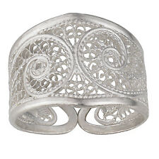 Filigree Ring - Size 7 S.Michael Designs Artisan Crafted Silver