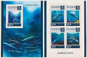 2014 Solomon Islands Souvenir Sheets | Mi #BL321 & 2697-2700KB | MNH OG