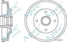 2x OE Quality Replacement Rear Axle Apec Brake Drums 4 Stud 200mm