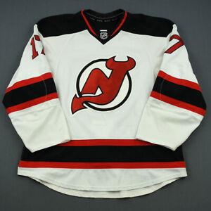 2013-14 Michael Ryder New Jersey Devils Game Worn Hockey Jersey NHL MeiGray