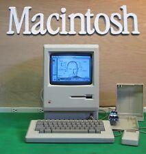   OUTSTANDING Week 25 1984 Apple Macintosh Mac 128k M0001 with  Floppy EMU!!!