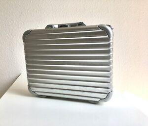 Rimowa Topas Attache Notebook S Business Aktenkoffer Aluminium - TOP