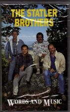 """THE STATLER BROTHERS........""""WORDS AND MUSIC"""".........BRAND NEW COUNTRY CASSETTE"""