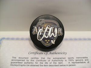 Cory Schneider Autographed Signed 2016 NHL All Star Game Puck COA New Jersey