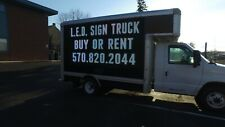 Ford E350 Dual 5x10 Led Mobile Billboard - Turnkey Investment Fully Functional