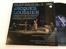 JACQUES LOUSSIER NM Play Bach No. 4 Christian Garros Michelot Decca SKL 5036 IV